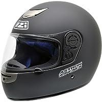 NZI Astron 600 Casco de Moto, Negro Mate