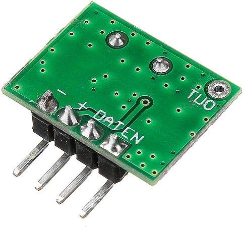 JIANGNANCHUN WL102 433 MHz módulo transmisor de control ...