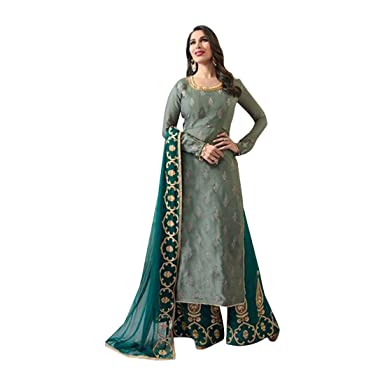ab502c535a Bollywood Wedding Collection Palazzo Salwar kameez Suit Heavy Muslim ...