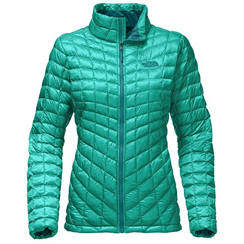 The North Face Women's Thermoball Full Zip Jacket Pool Green - XS