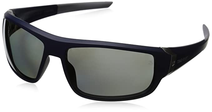 Tag Heuer Racer2 9221 rectangular gafas de sol Azul Blue ...