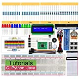 Freenove LCD 1602 Starter Kit for Raspberry Pi 4 B 3 B, 209 Pages Detailed Tutorials, Python C Java, 151 Items, 28 Projects, Learn Electronics and Programming, Solderless Breadboard