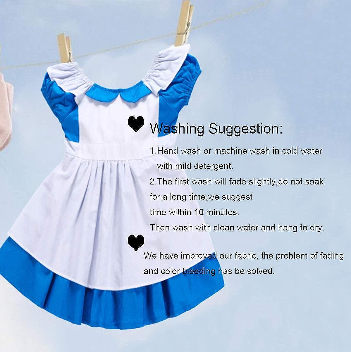 JiaDuo Little Girls Princess Alice Dress Up Cotton Halloween Costumes