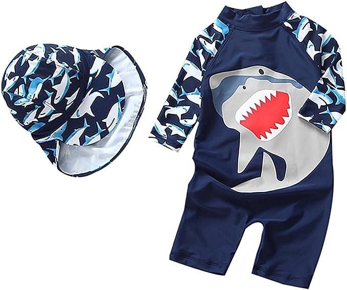 Yober Baby Boys Rash Guards Swimsuit Swimwear