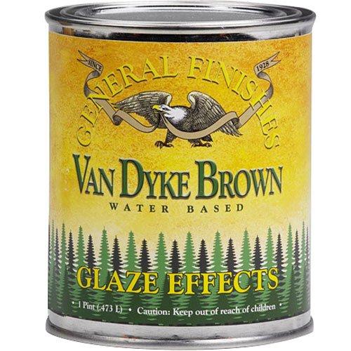 GF Glaze, Burnt Umber, Pint (Burnt Umber Glaze)