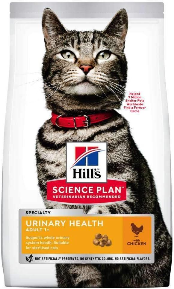 Hill's - Pienso para Gatos Adultos Science Plan Urinary Health sterilised Pollo