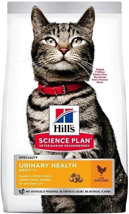 Hills - Pienso para Gatos Adultos Science Plan Urinary Health sterilised Pollo: Amazon.es: Productos para mascotas