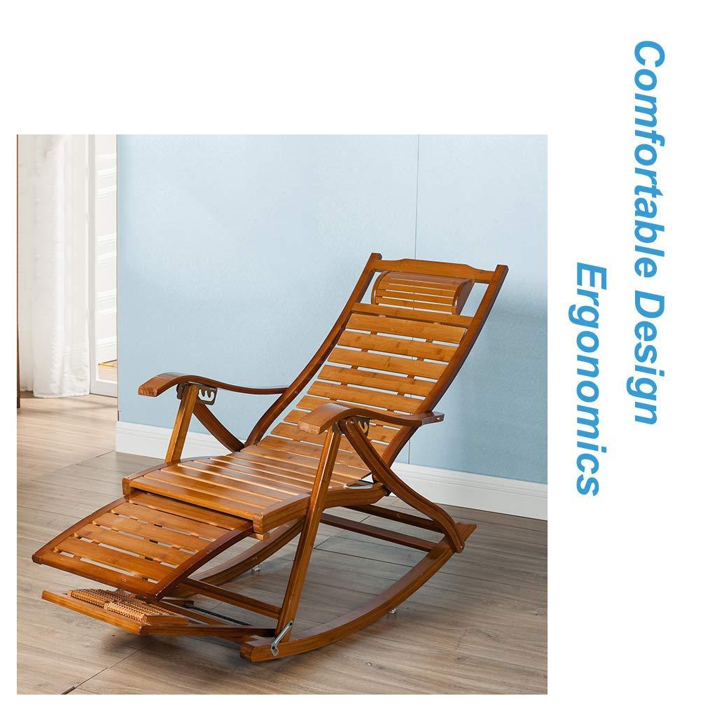 /Klappbarer Outdoor Relax-Stuhl f/ür Erwachsene Kinder WZB Vintage Schaukelstuhl f/ür Garten Balkon Wohnzimmer /Liegest/ühle Liegest/ühle Sonnenbad