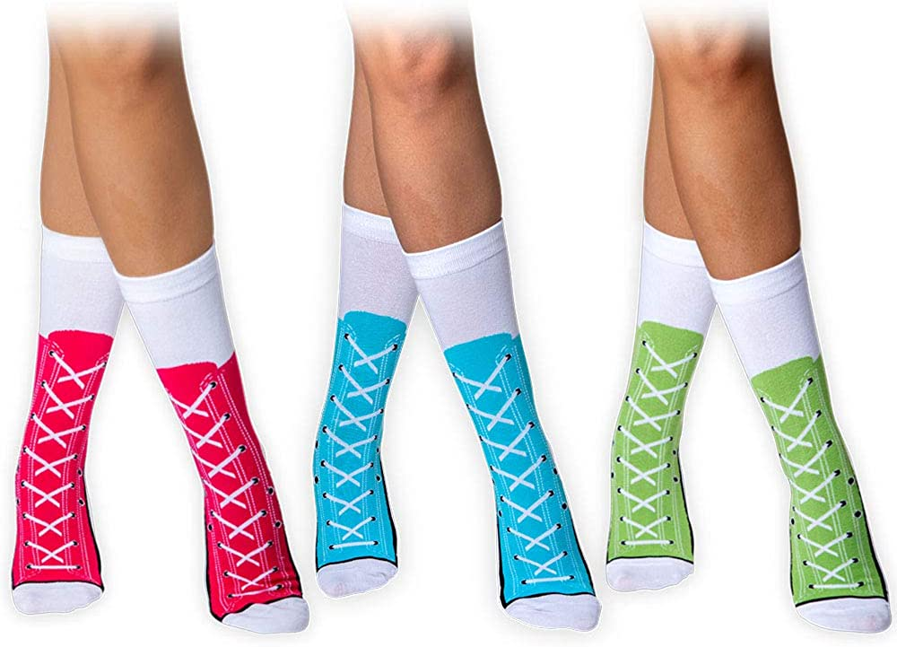 Crazy Socks for Women Knee High Socks   Long Socks for Women   Funny Socks Women Over the Knee High Socks Tall