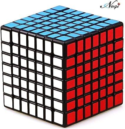Negi 7x7 Speed Cube Black Twisty Magic Puzzle