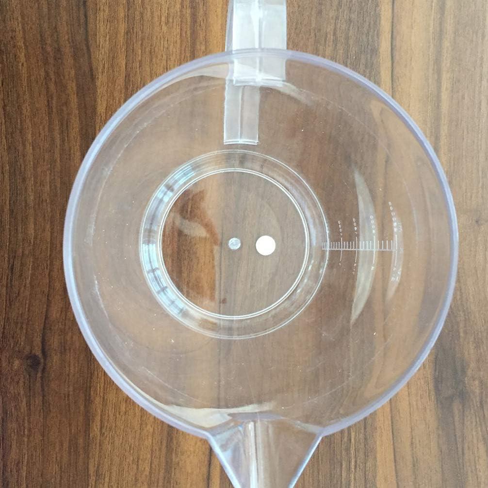 Cabilock Pichet en Plastique avec /Échelle 1L Pichet /à Boissons en Plastique Pichet de Grande Capacit/é M/élange Clair Boissons Pot de Jus Bouilloire Th/éi/ère /à Glace