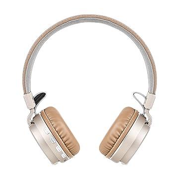 Auriculares inalámbricos con Bluetooth P2, diseño plegable, auriculares estéreo, bajos, música suave, tarjeta TF, auriculares para PC y smartphones: ...