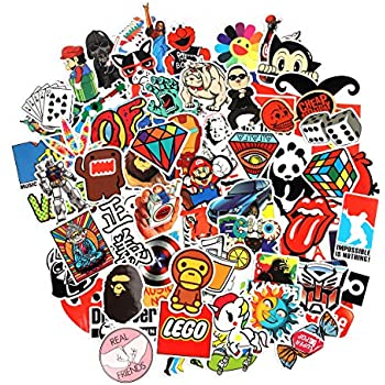 8 series stickers 100 pcs pack stickers variety vinyl car sticker motorcycle bicycle luggage decal