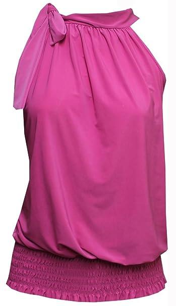 NEW patrones para coser acanalado para mujer envuelto con escote HALTER de fiesta UK adorno en