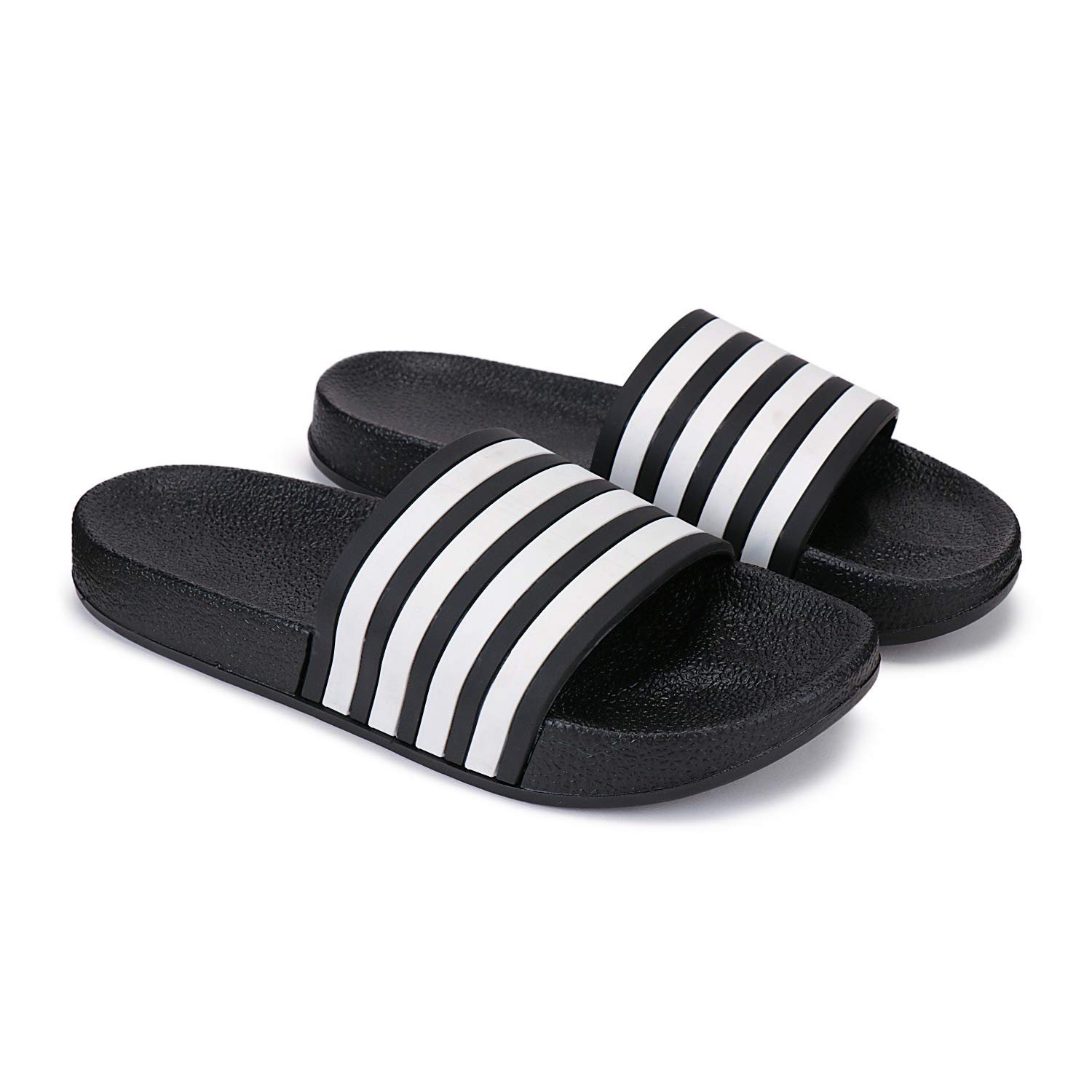 Zenwear Slip On Flip Flops, Slipper for Men, Black: Amazon.in: Shoes &  Handbags
