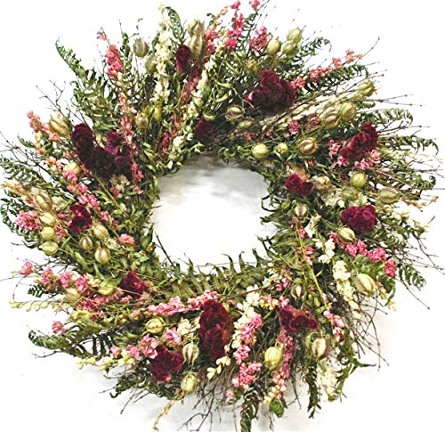 VanCortlandt Farms Handmade Red Velvet Wreath ()