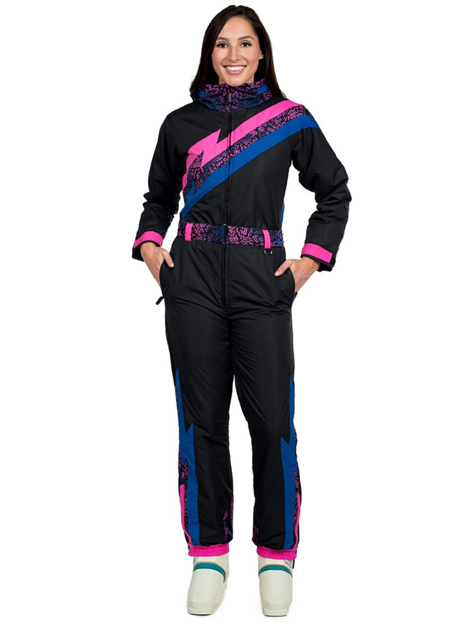 Tipsy Elves Women's Nightrun Ski Suit: Small by Tipsy Elves