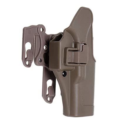 Left Right Waist Hand Belt Holster with Molle Platform for GLOCK 17 18 19 22 23