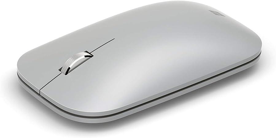 Microsoft Surface Mobile Mouse Platin Grau Computer Zubehör