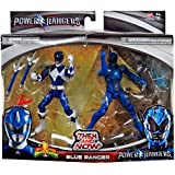 Saban's Power Rangers Movie Then and Now Blue Ranger Action Figure Set 5 Inches