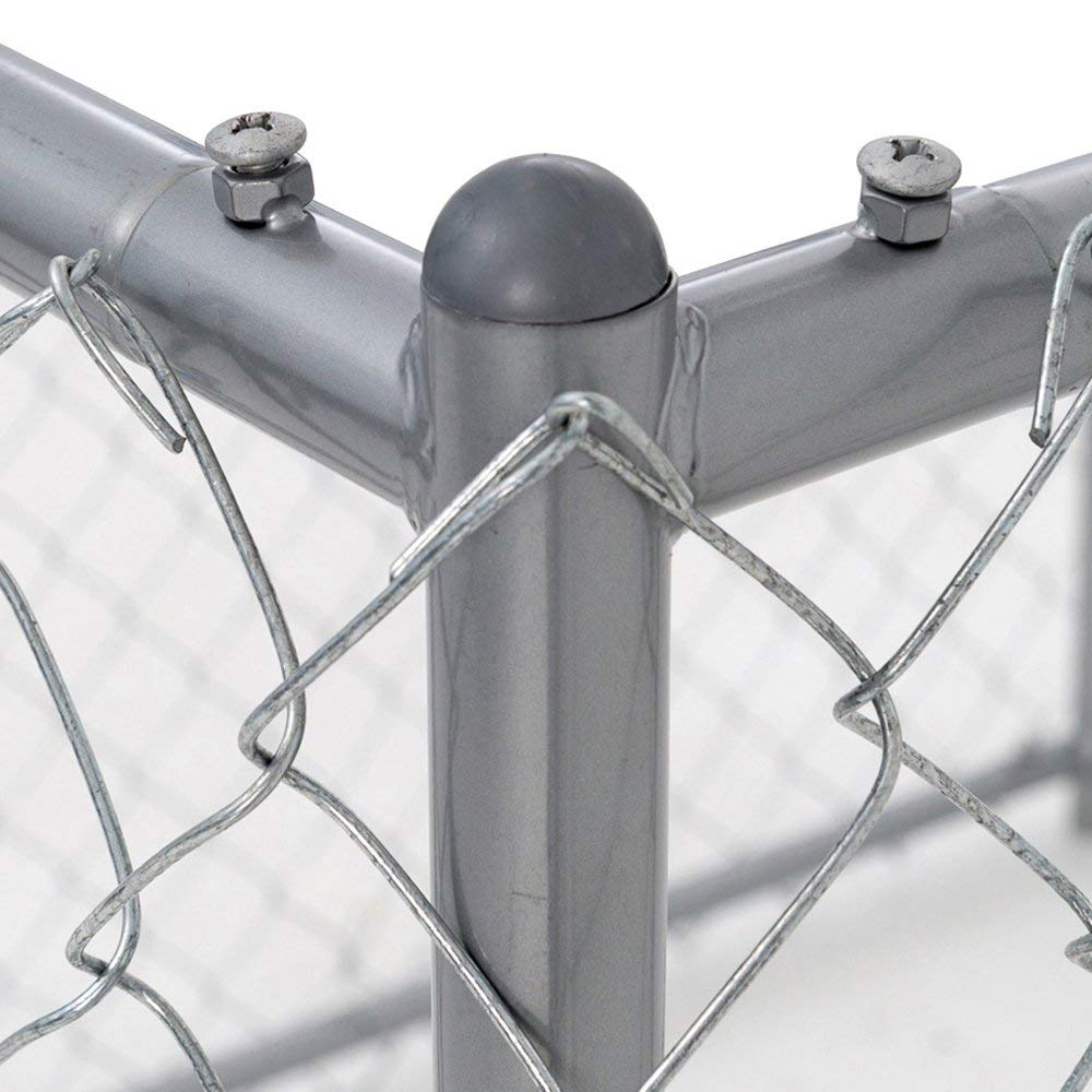 Lucky Dog Galvanized Chain Link Kennel (10' x 5' x '4) by Lucky Dog (Image #2)