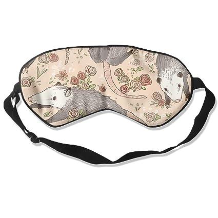 Antifaz para dormir cómodo con diseño de possumas para ...