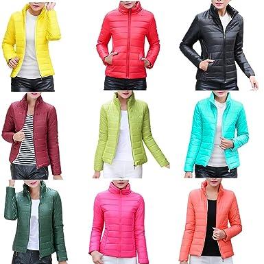 DICPOLIA Womens Slim Parka Jacket Hooded Down Winter Coats Jackets Outwear Coat