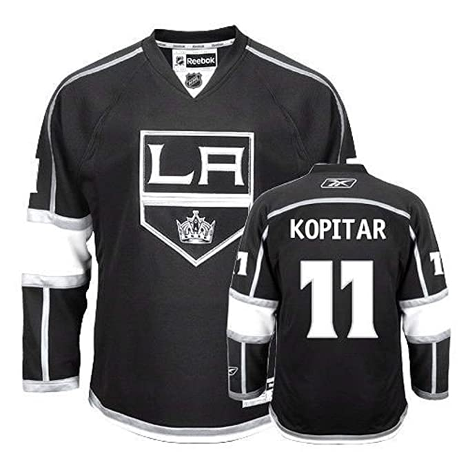 Image Unavailable. Image not available for. Color  Anze Kopitar Los Angeles  Kings NHL Youth Black Home ... c0a98bd9f