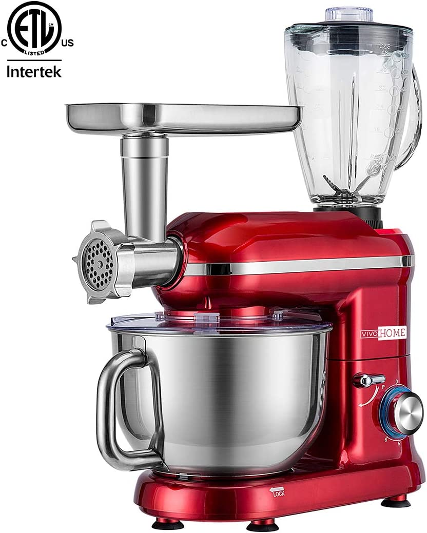 VIVOHOME Multifunctional Stand Mixer