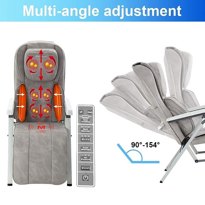 Amazon.com: Masajeador de espalda para silla de masaje ...