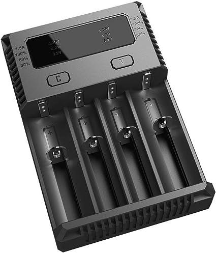 Amazon.com: Cargador de batería inteligente universal ...