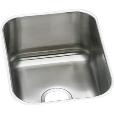 Dayton Dxuh1318 Single Bowl Undermount Stainless Steel Bar Sink
