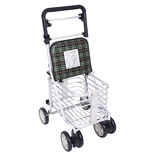 Accesorios para andadores con ruedas Walker Cesta De La Compra Old ...