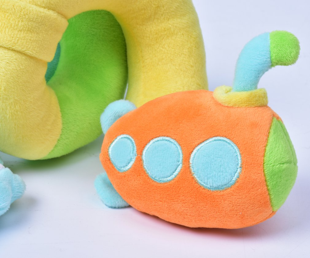 SKK Baby Infant Crib Toy Stroller Activity Spiral and Travel Toy Ocean