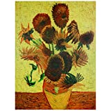Oriental Furniture Sunflowers Canvas Wall Art