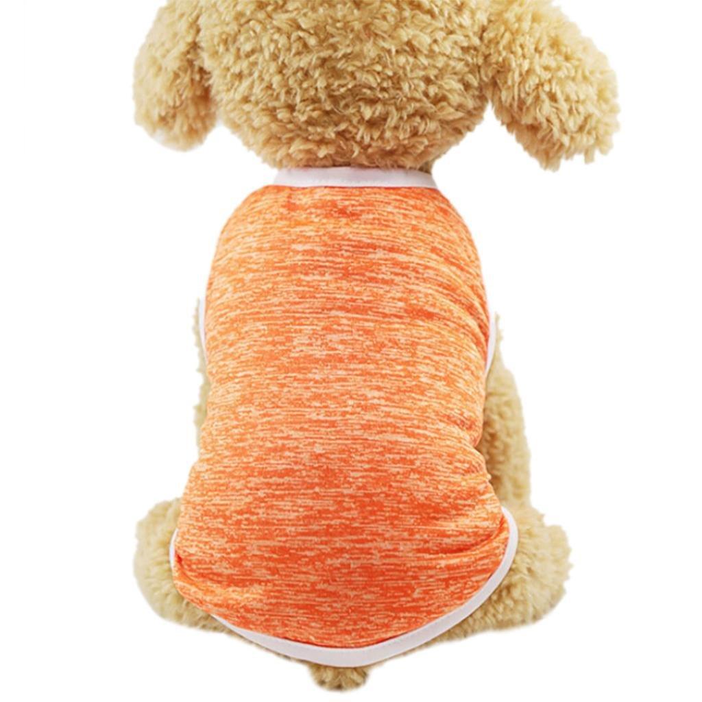 Ropa Para mascotas pequeñas perros accesorios ropa mascotas disfraces para perros trajes de Halloween camisetas para perrito chaleco de perros Nueva Camiseta Casual para Gatos Sannysis