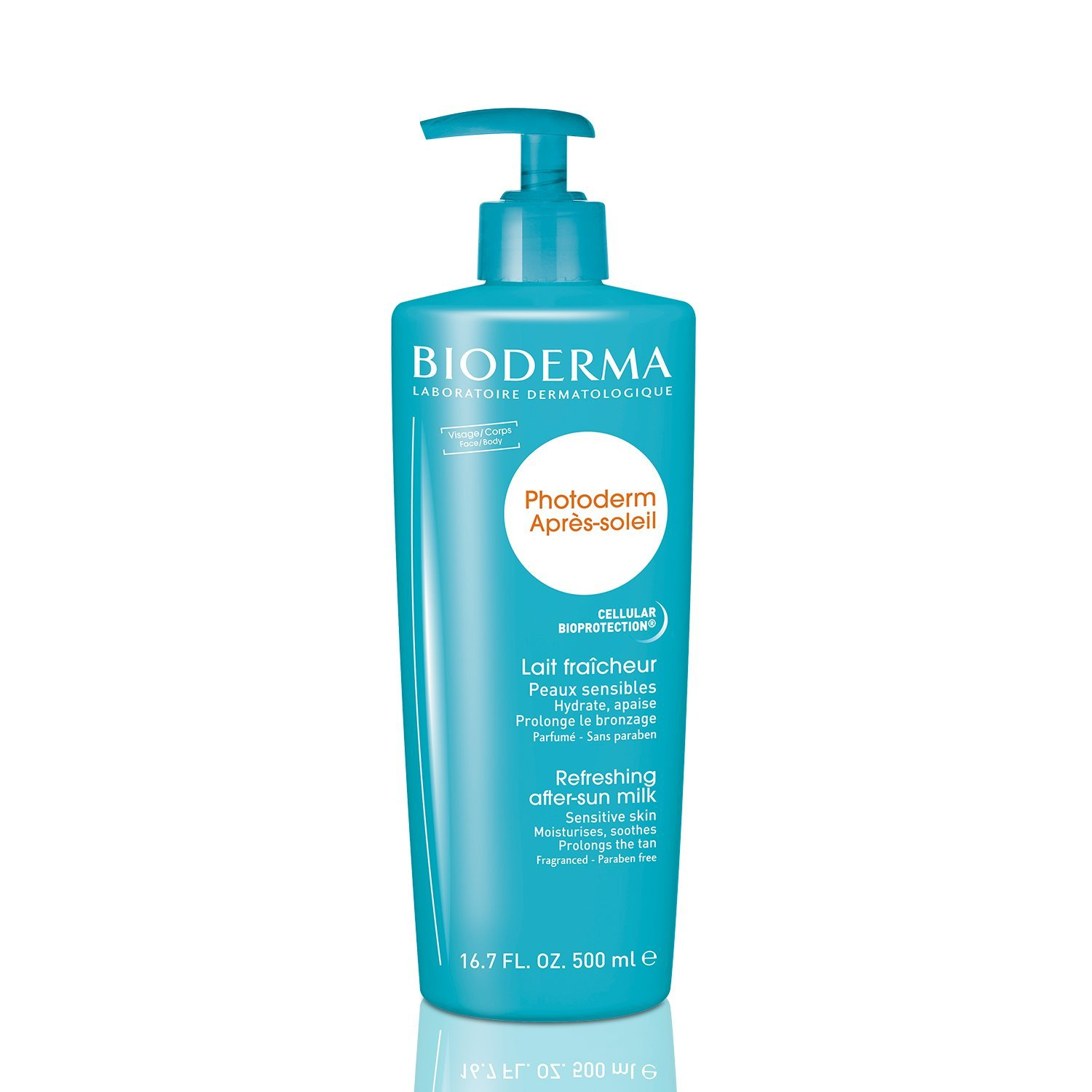 Bioderma Photoderm Apres-Soleil Refreshing After-Sun Milk for Unisex,16.8 Ounces 3401353690004