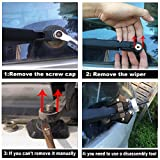 Rear Windshield Wiper Arm Blade Set For Rogue