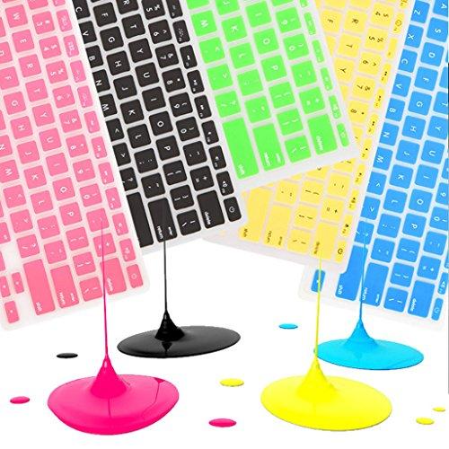 [해외]쿠스코 - 유럽 버전 프랑스 11 색 MacBook Air 용 프랑스 실리콘 키보드 커버 스킨 프로텍션 스티커/Coosbo - Europe version France French Silicone Keyboard Cover Skin Protective Stickers for 11  MacBook Air