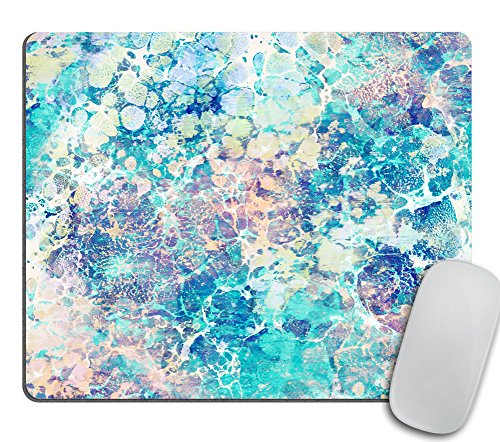 (Marble Mousepad, Mouse Mat, Desk Accessories, Mermaid Mousepad, Modern Mouse Pad, Personalized Mouse Pad Rectangle Mousepad, Cubicle Decor)