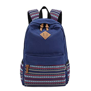 Saint Kaiko mochilas escolares juveniles mochila viaje mujer y hombre Mochila Vintage de Lona mochila portatil Bolsa de viaje Bolsa de viaje escolares ...