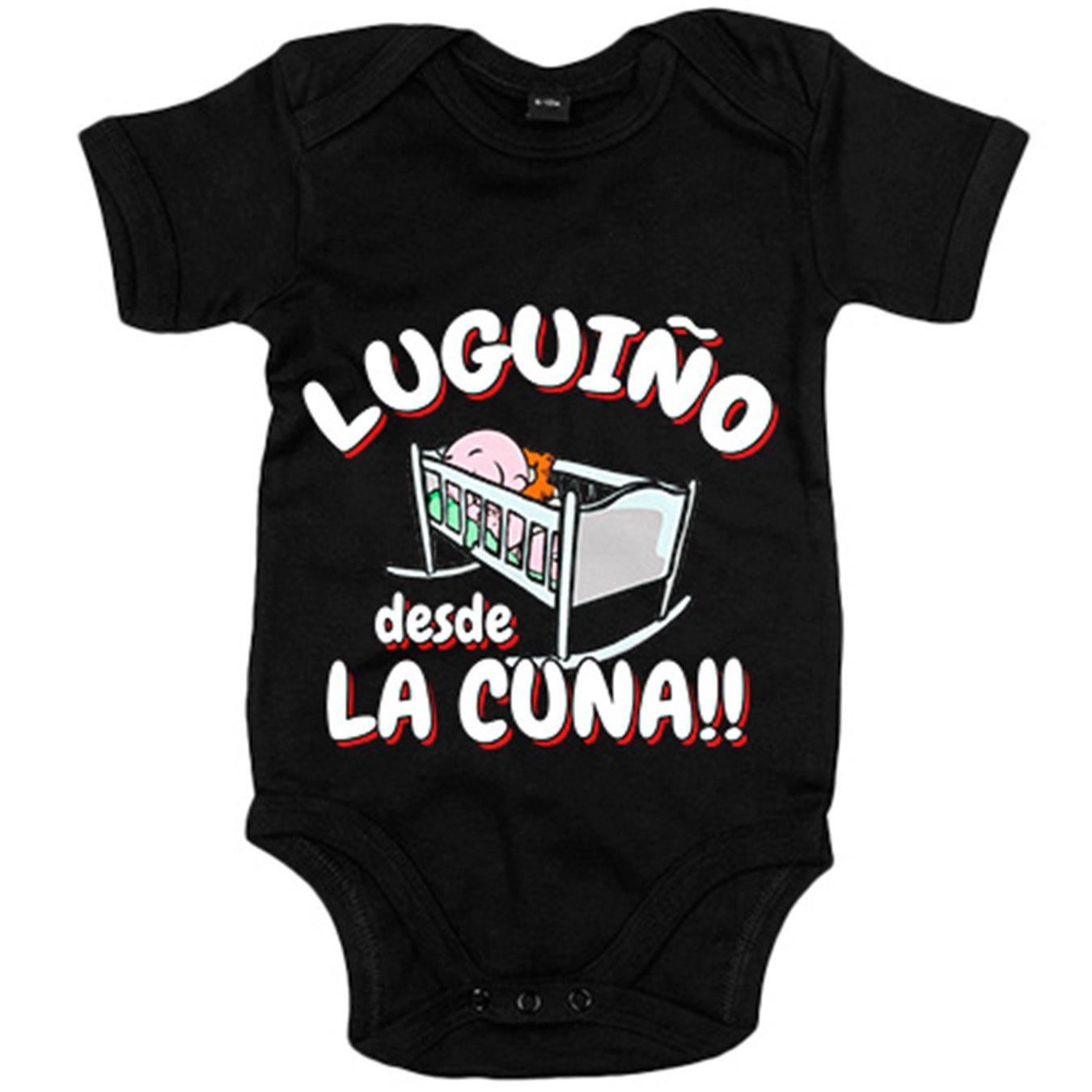 Body bebé Luguiño desde la cuna Lugo fútbol - Blanco, 6-12 ...