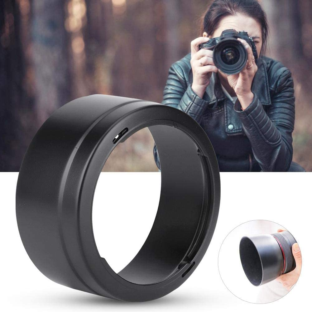 Fingerprint Bewinner Camera Lens Hood,ES-78 Quality Portable Plastic Camera Lens Hood Shade for Canon EF 50 mm F1.2L USM,Protect The Lens From Scratches