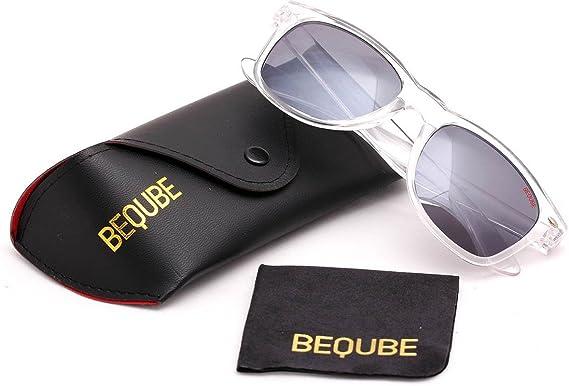 933dfed05 Beqube Stunning Mirror Unisex Sunglasses (Black )  Amazon.in ...