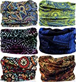 VANCROWN Headwear Wide Headbands Scarf Head Wrap