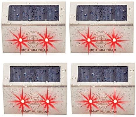 Yinghao Solar Powered Red LED Light