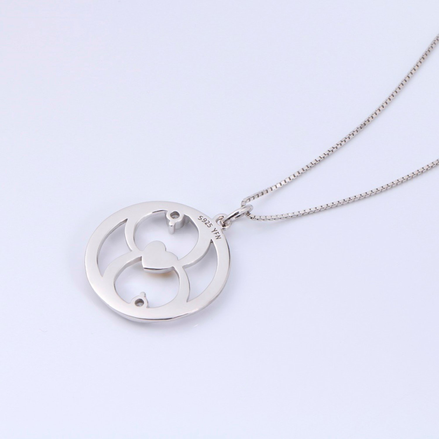 CS-DB Womens Necklaces by Silver Pendant My Mother My Friend Love Heart Luxury Girls Pendent