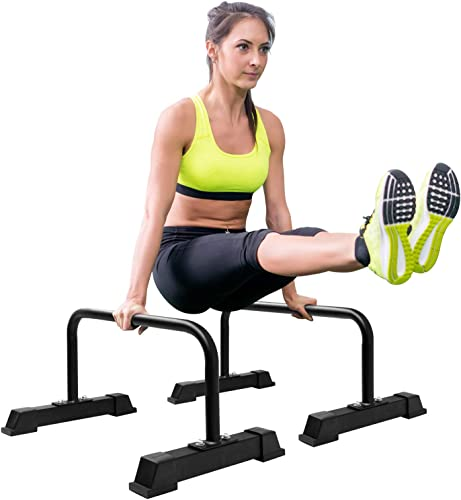 Yes4All Steel Parallettes Push-Up Bar