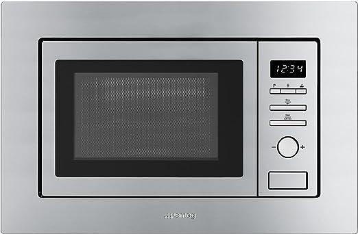 Smeg FMI017X Integrado - Microondas (Integrado, Microondas con ...