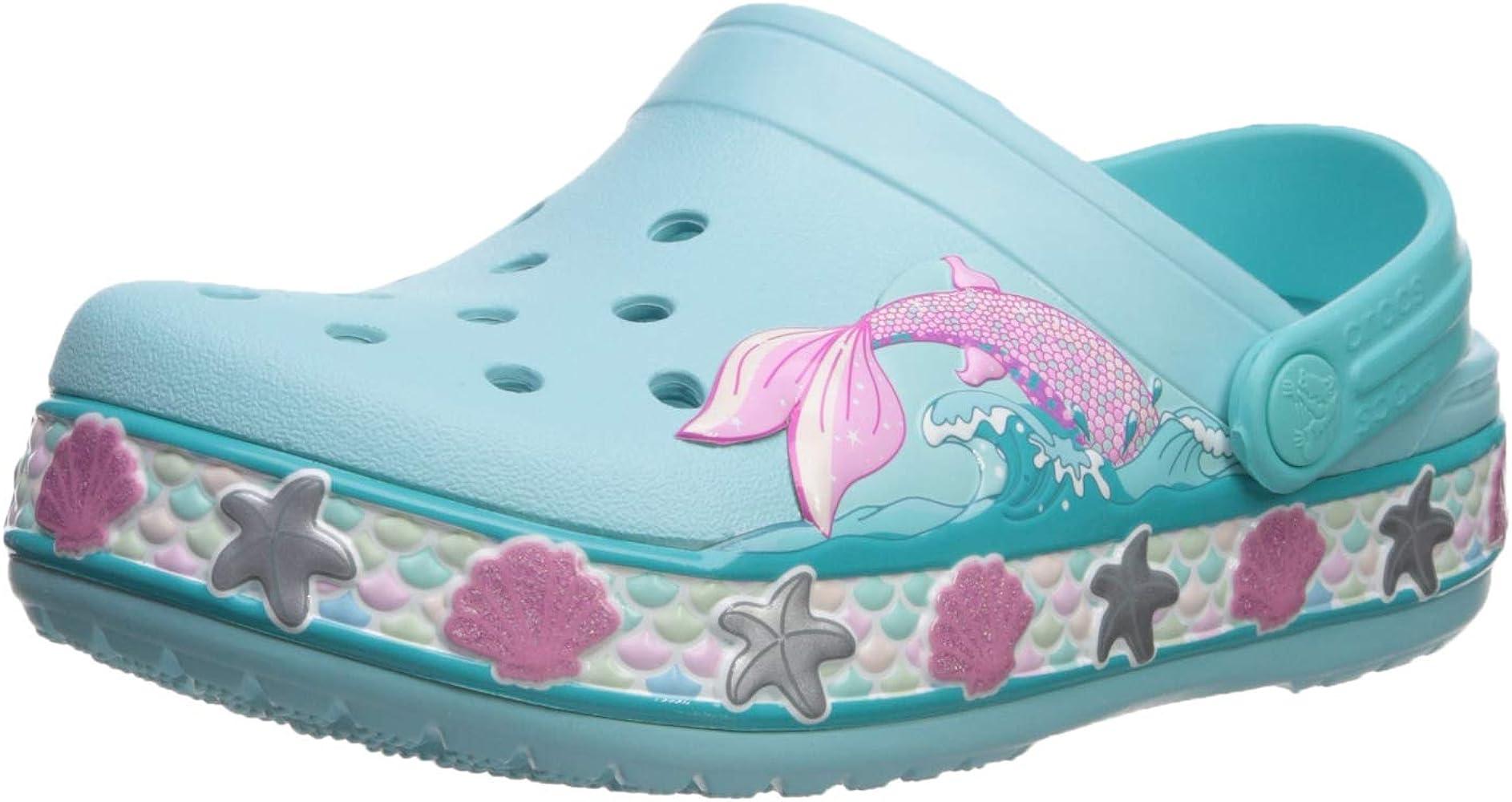 Crocs Kids' Fun Lab Mermaid Band Clog